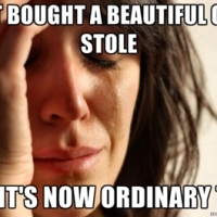 Anglo Catholic first world problem...