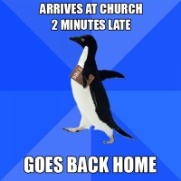 Introducing Socially Awkward Christian Penguin