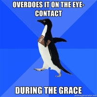 Socially Awkward Christian Penguin says the Grace