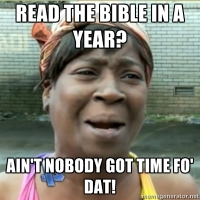 Read the bible in a year? (meme submitted by @6eight)