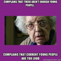 Not enough young people in church