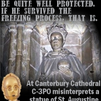 C-3PO at Canterbury Cathedral