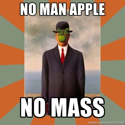 liturgical error man apple 1