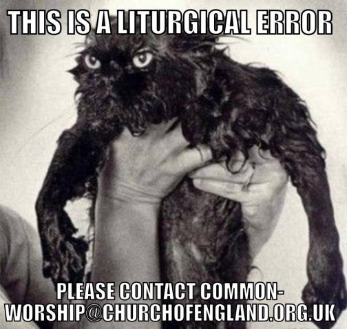 Liturgical Error