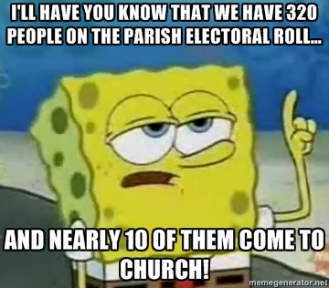 Tough Spongebob Is On The Pcc Anglican Memes