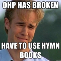 Church first world problems in the 90s