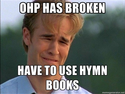 90s church first world problem 1