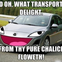 Oh, what transport of delight