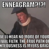 Enneagram?!  This is the Church of England!!