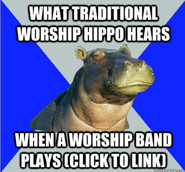 Your church has a worship group, you say?