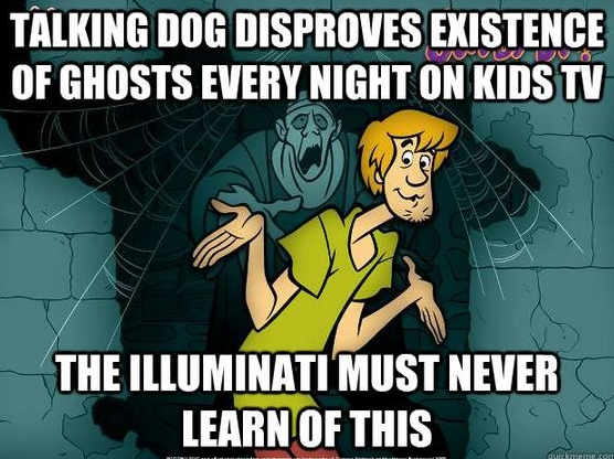 Talking dog disproves existence of ghosts