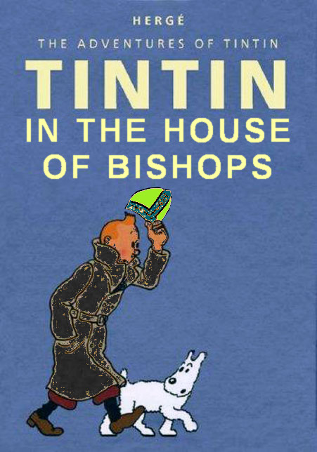 Tintin goes to #Synod... undercover in the HoB
