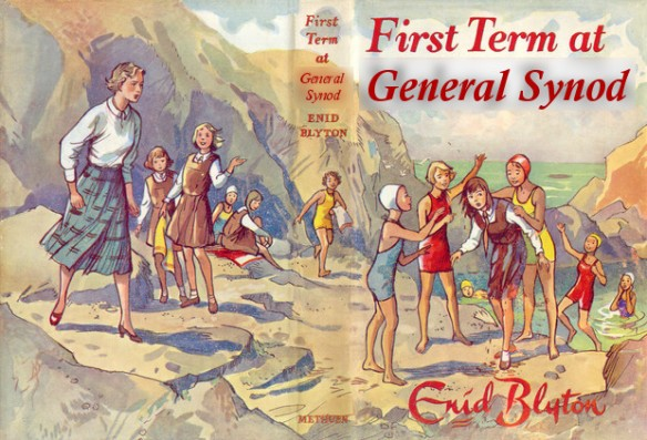 Enid Blyton's long-forgotten General Synod books #1