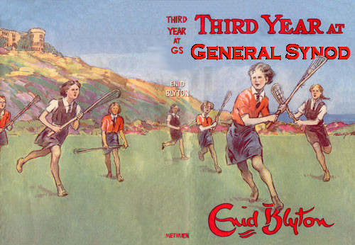 Since Blyton's day some #Synod traditions have been dropped