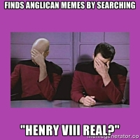 20 dumb Google searches - according to Anglican Memes website statistics