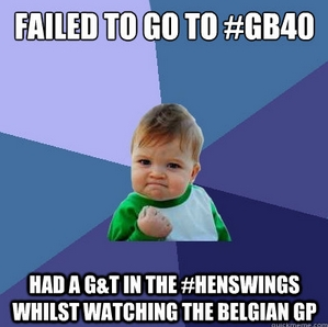See you under the #HensWings later? #gb40