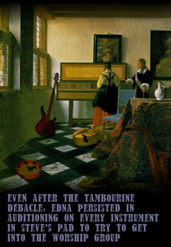 Vermeer's lost masterpiece: the worship group audition