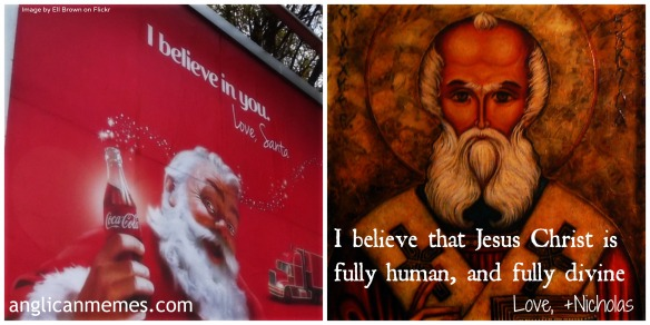 Santa vs St Nick