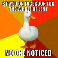 Tech Impaired Lent