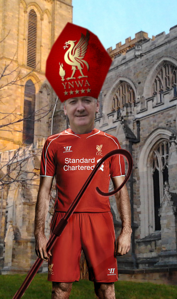bishop Nick LFC robes