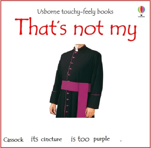 that's not my cassock