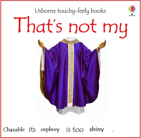 that's not my chasuble